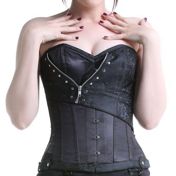 #corset negro #sexy