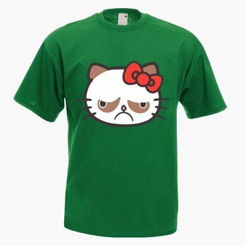 Grumpy Cat T-Shirt - http://goo.gl/1bEKrN