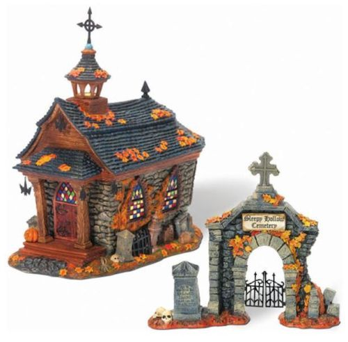 dept 56 legends of sleepy hollow een churchgate gift set 806456 halloween villagehalloween decorationshalloween