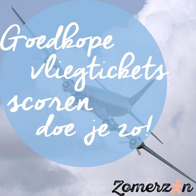 Wil je graag goedkope vliegtickets scoren? Lees dan deze blog: www.zomerzin.nl/blog/goedkope-vliegtickets-scoren