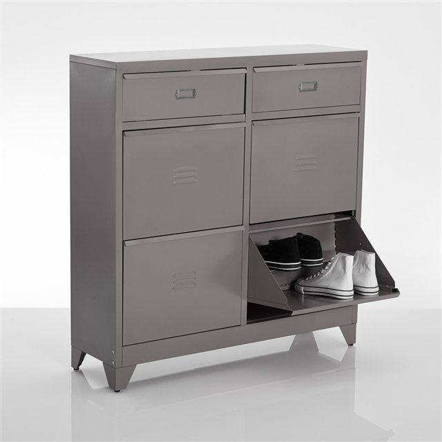 Meuble chaussures 4 tiroirs hiba la redoute interieurs la redoute mobile entr e meuble - La redoute meuble a chaussure ...