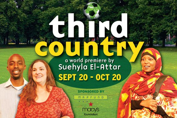 More about THIRD COUNTRY, premiering at Atlanta's Horizon Theatre Company September 20, 2013. Catch a conversation with the playwright and selected scenes performed by the cast, October 1 at Fayette County Public Library.