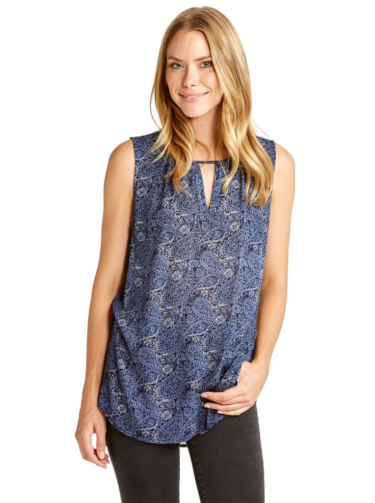 Image for Rosie Key Hole Top from Just Jeans