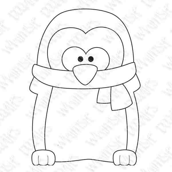 image about Penguin Pattern Printable named penguin practice printable -