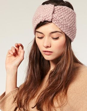 knit headbands are so cute!