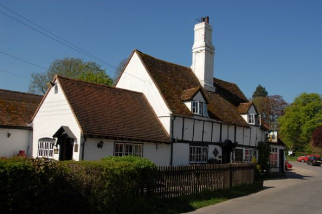 (PHOTO: Rex)  Travel quiz: Can you name Britain's famous TV locations?   11 - The Vicar of Dibley  The village of Dibley in Oxfordshire is actually set in Turville in Buckinghamshire, where you'll find Reverend Geraldine Granger's vicarage (two cottages in Turville were used and made to look like one building) and the beautiful St Mary The Virgin Church, which is the St Barnabus of Dibley in the comedy. Be sure to stop for a pint at the black and white timbered Bull and Butcher Pub and...