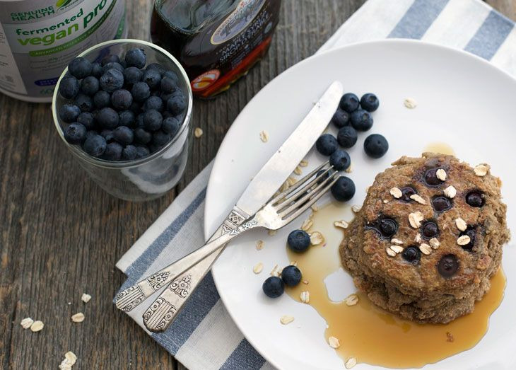 Power up your weekend morning with these protein packed pancakes. Ingredients 2 cups rolled oats 2 scoops fermented Vegan proteins+ […]