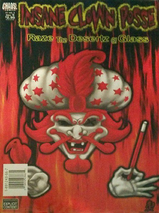 insane clown posse the pendulum hashtag2 comic book collection