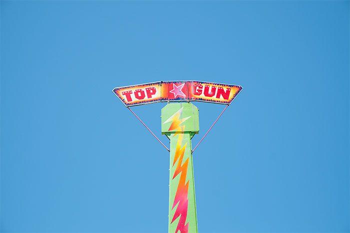 Rye foreshore amusement park