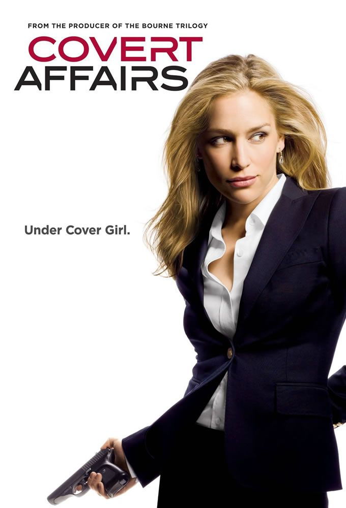 Covert Affairs // Because Piper Perabo.
