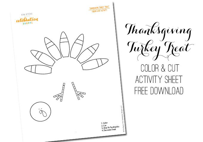 So glad you're here to download my FREE Thanksgiving Turkey Treat Activity Sheet!I'd love to see a pic of your kiddos using it. You can tag me on Twitter, Pinterest, Instagram or Facebook! Download by clicking image. Crafting is as easy as coloring, cutting, using glue dots to attach the pieces to a toothpick and …