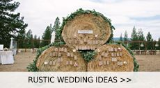 It's just perfect to plan a country themed wedding in Fall to me, not have to be formal, modern affairs, just country at heart, offering an opportunity to inject your personality into the ceremony and reception. An ou...