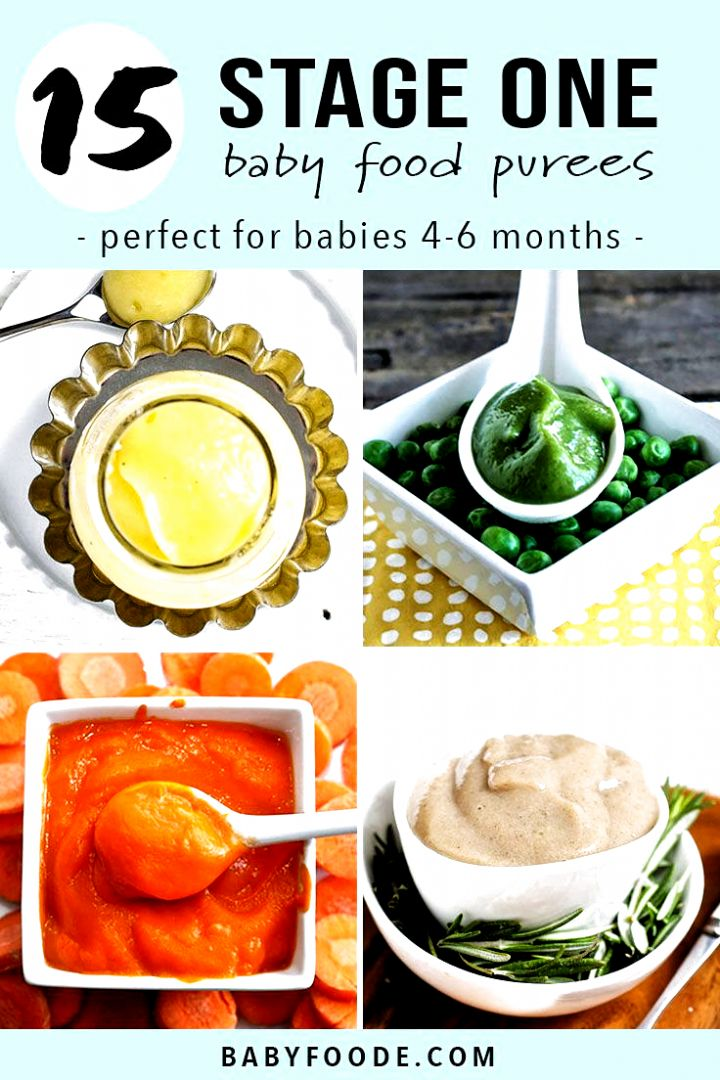 15 stage one baby puree recipes that will tempt your babys