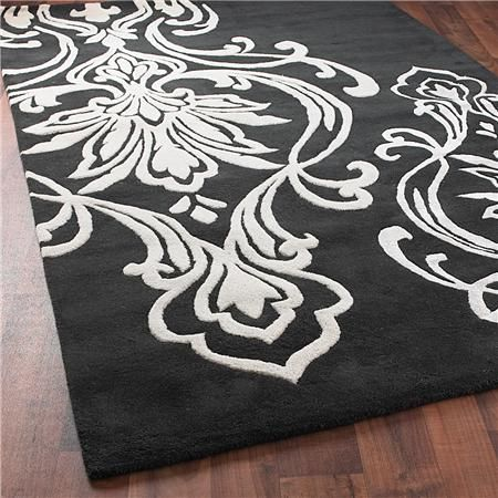 Candice Olson Damask Rug: 2 Colors Available - Shades of Light