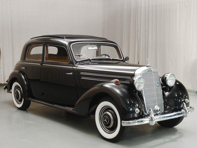 1950 mercedes-benz 170s sedan