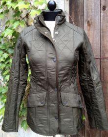 Womens barbour utility polarquilt jacket