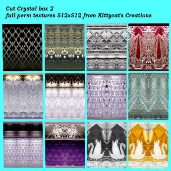 Cut Crystals textures 2 box