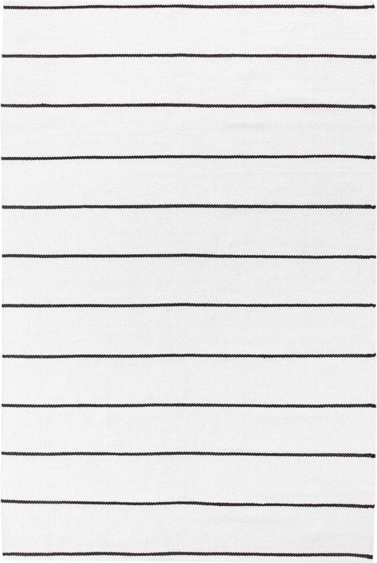 Matto Alppila 120x180 cm mustavalkoinen