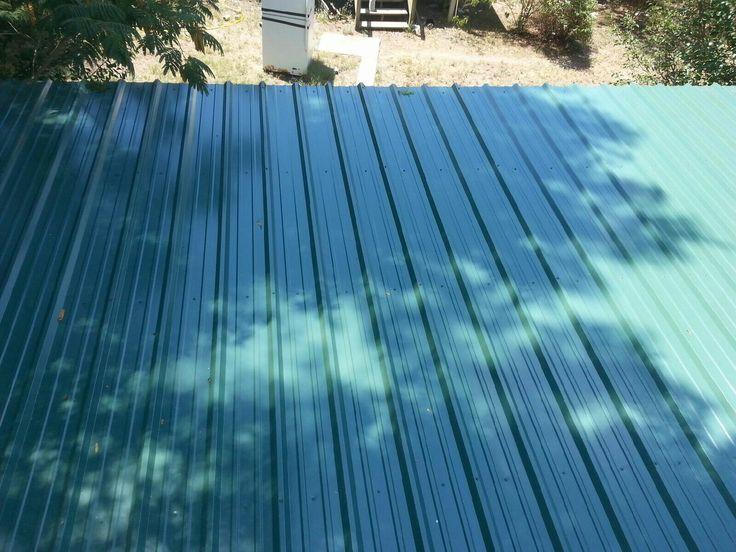 40 yr 26 gauge Hunter Green roof let us install your metal