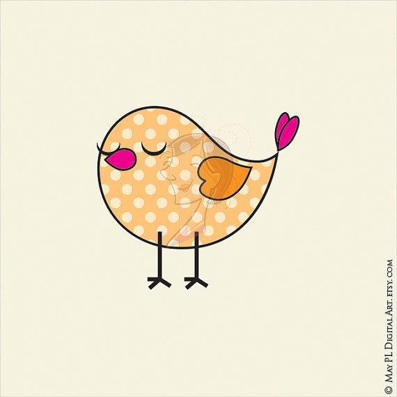 Birds Digital Clipart COMMERCIAL USE Download by MayPLDigitalArt