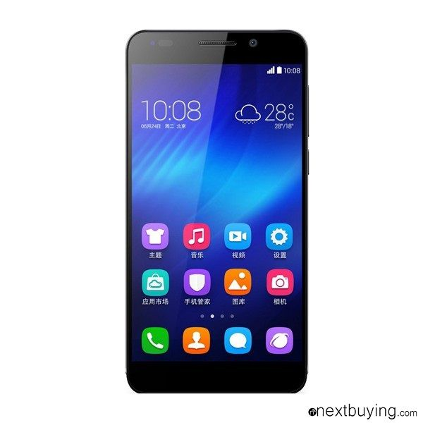 Huawei Honor 6 Smartphone 4G LTE 5 inch FHD 8-core 3G RAM Huawei Honor 6 first 4G LTE Cat6 Smartphone with HUAWEI Hisilicon Kirin 920 octa core processor  3GB DDR3 RAM, fun experience 5 inch full HD screen, brings the unparalleled feeling  Rear 13MP Camera, a completely new experience
