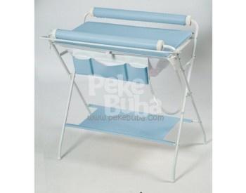 Bañera cambiador plegable King Baby vichy azul 71,05€