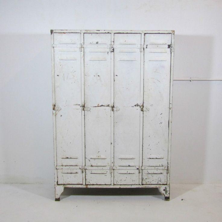 4 deurs locker wit