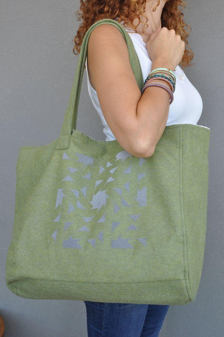 Green handbag, Diaper bags, Carry on handbag, Aztec tote bag, Spring handbag, Shopping bag, Eco friendly tote, Market bag, Womens work bag