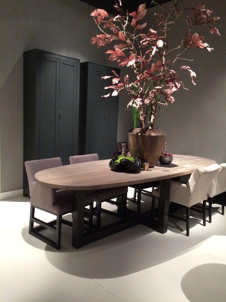 Keijser&Co | eetkamertafel | Square Leg #Design #Flowers #Interior #kokwooncenter #201605