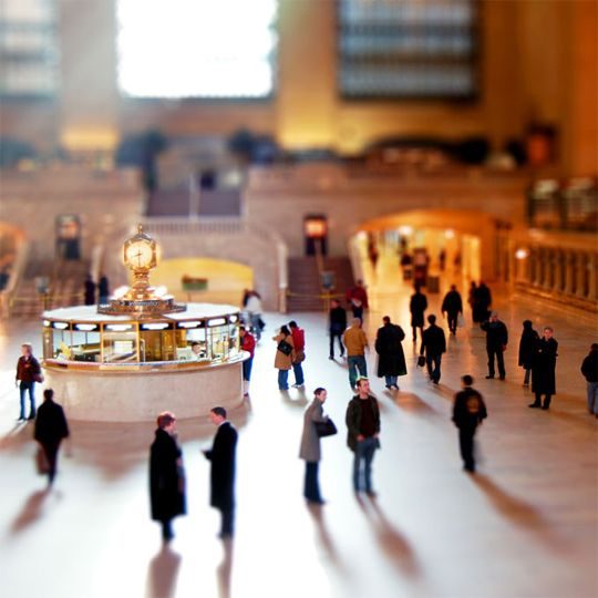 Tilt-shift photography refers to giving the subject of a photo a miniature look or toy-like appearance.