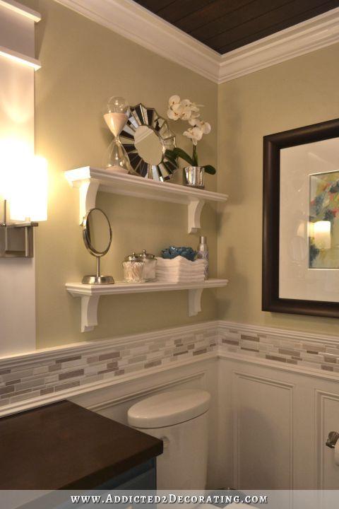 17 best ideas about half bathroom remodel on pinterest half bathroom decor small half for Pics of small bathroom remodels