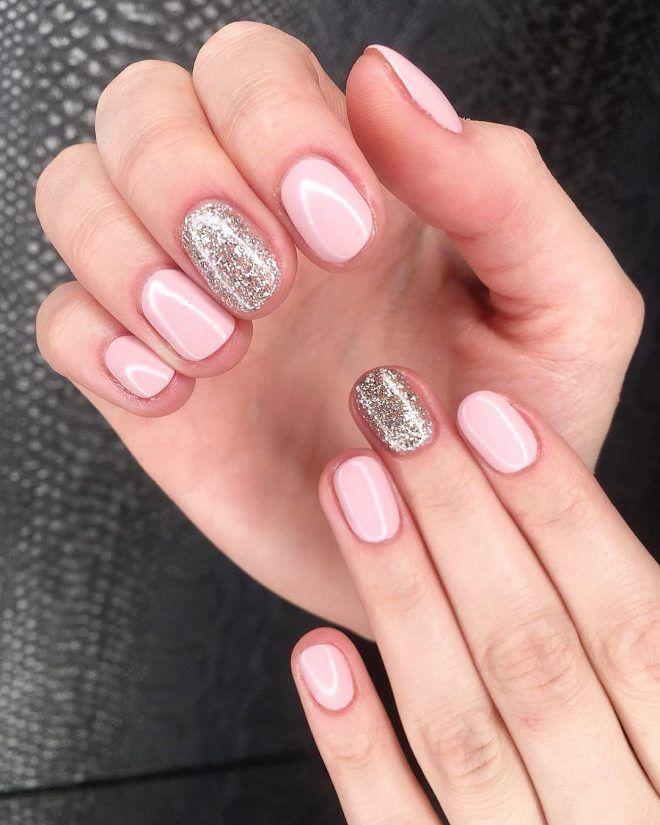 So Cute Short Acrylic Nails Ideas You Will Love Them Shiny Nails Designs Light Pink Acrylic Nails Pink Acrylic Nails