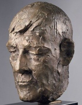 Portrait of Oskar Kokoschka - Giacomo Manzu