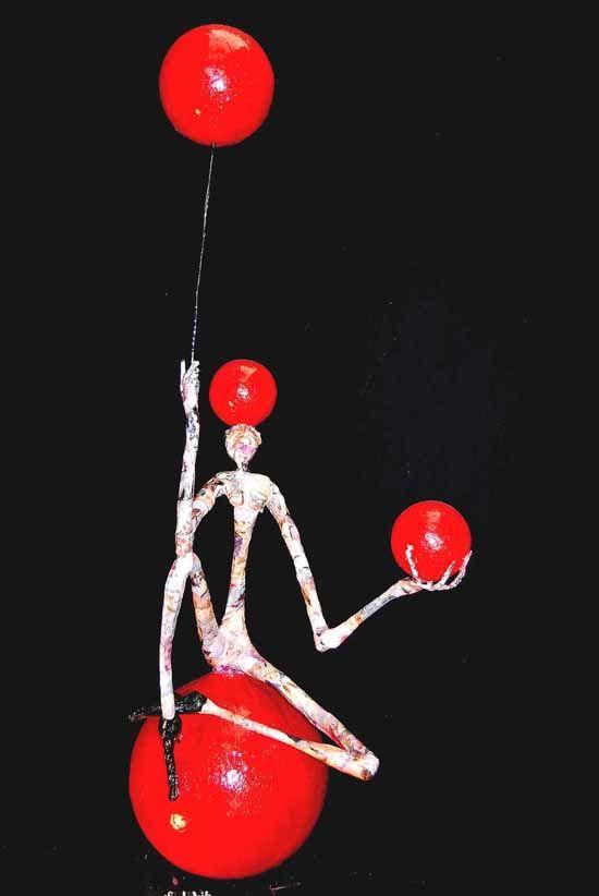 Metal and paper sculptures by Jean-François Glabik - ego-alterego.com