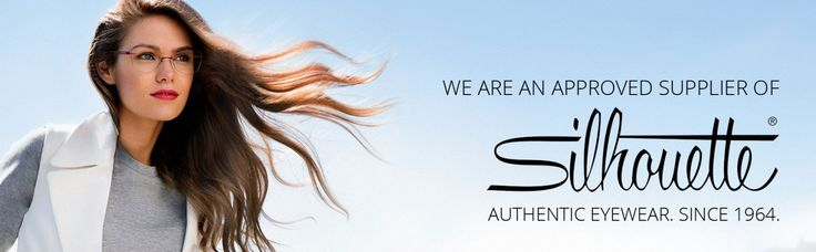 We are an approved supplier of Silhouette Eyewear!  #Style #Silhouette #Eyewear #Designer #Fashion