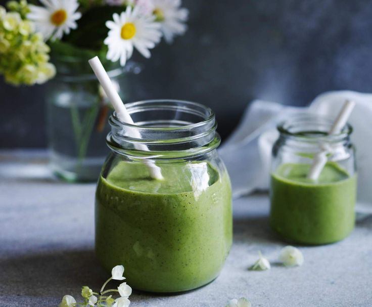 Recipe Coconut banana spinach smoothie by Louise Fulton Keats - Recipe of category Drinks