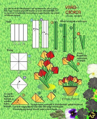 Egyszerű virágcsokor