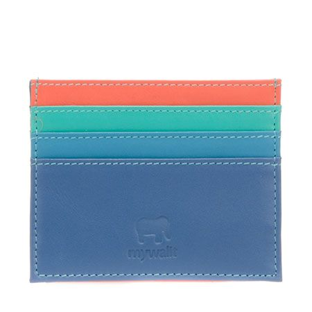 Double Sided Credit Card Holder- myWalit SS015 - beautiful brightly colored Leather wallets, bags, accessories- these make me so wonderfully happy! #mywalitss015