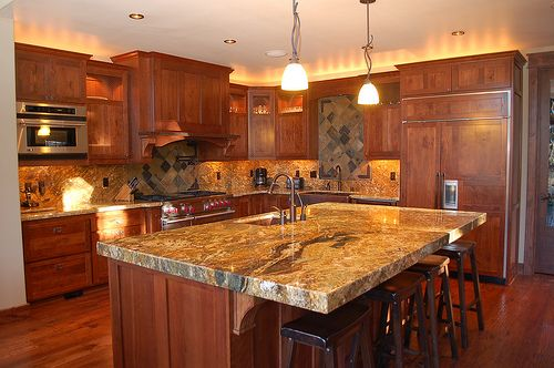 Granite is just so expensive when imitation products have for Cc kitchen cabinets