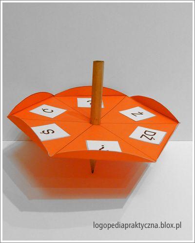Loteryjka sylabowa – utrwalanie głosek w sylabach – szereg szumiący, syczący i ciszący.