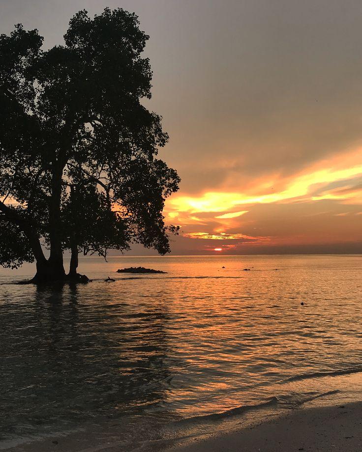 Sunrise in my backyard Berau, East Kalimantan - Indonesia