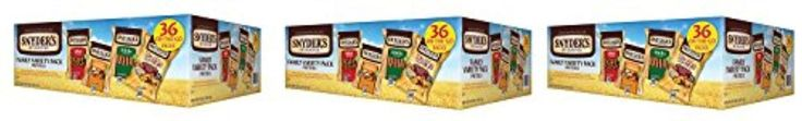 Snyder's of Hanover Pretzel Variety fjddb Pack - 36 Count (3 Pack) - Brought to you by Avarsha.com