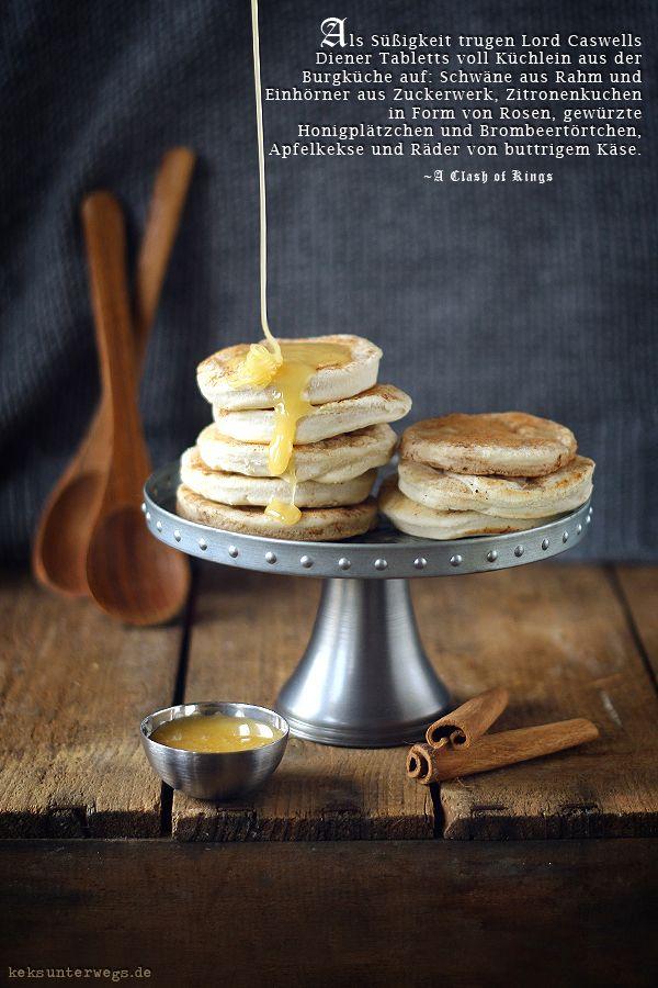 """Honey Biscuits from """"The Game of Thrones"""" Cookbook   +++keksunterwegs.de+++"""