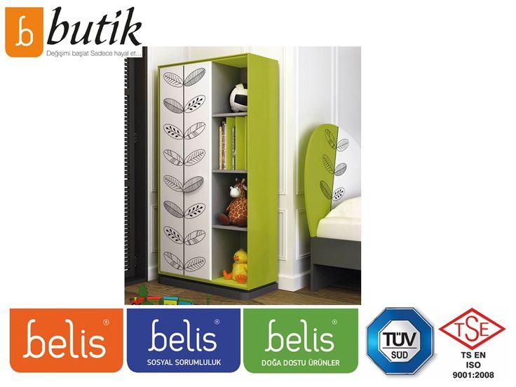 Belis Nature Kitaplık TR3148 | Kitaplık | E-Belis - Bebek Odası,Bebek Karyolası