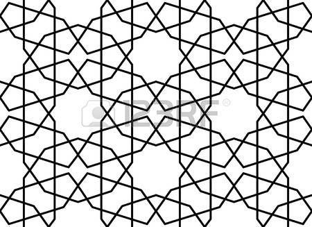 farsça: Geleneksel kesintisiz islam fars desen veya arabesk