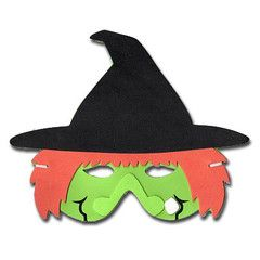 Witch Childrens Foam Animal Mask | Simply Party Supplies