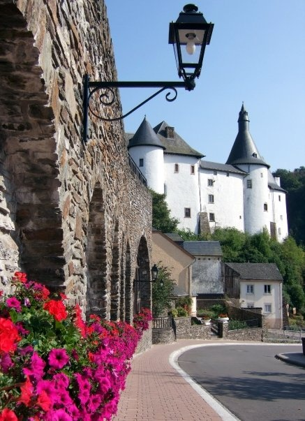 chateau Clervaux, Luxembourge. photo by dmcloughlan