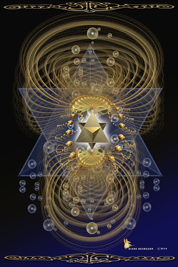 This is the Merkaba Activation activated through the heart center of the human body.