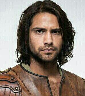 Luke Pasqualino as Dartagnan in The  Musketeers  Series 2