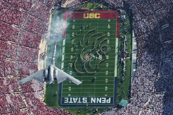 My favorite USC @ the Rose Bowl pic